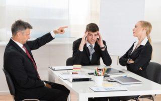 leidinggevende conflict